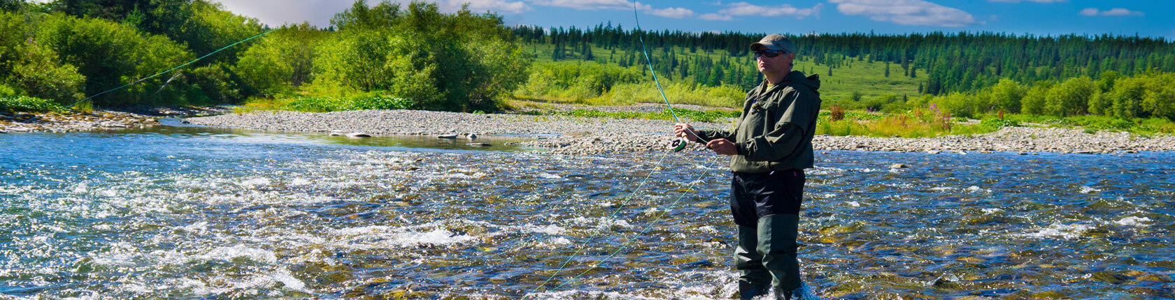 Fly Fishing River